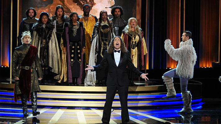 Weird al performance Emmys 2014