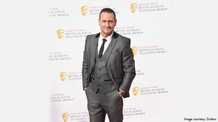 will mellor skinny tie and printed pocket square look