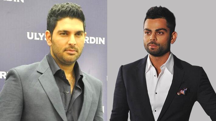 yuvraj kohli fashionable indian cricketers